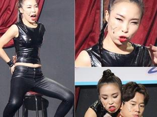 '개그콘서트' 오나미, 섹시봉춤 도전...강렬해진 웃음 코드