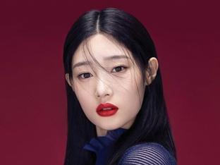 '다이아' 정채연, 매트 립 메이크업 완벽 소화 '우아+고혹'