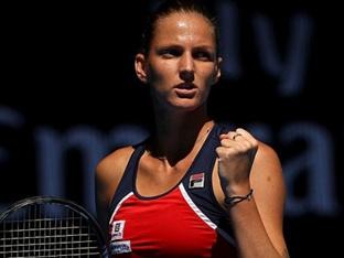 [WTA] 플리스코바, 보즈니아키 꺾고 카타르 토털 오픈 우승