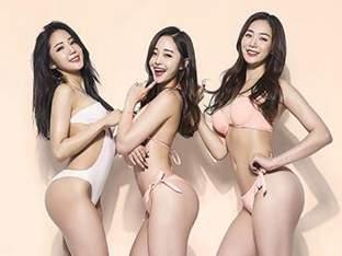 최설화,손소희,공민서 몸짱 여신의 '핫'한 섹시미!