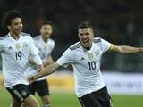 포돌스키, '은퇴경기 결승골'…독일, 잉글랜드에 1-0 승리
