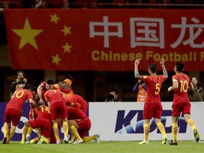 중국축구대표 한국전 승리상금 1인당 5억..역대최고액