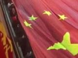 '공한증 깼다' 中 10만 인파 창사거리 행진