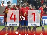 스페인, 이스라엘 꺾고 WC 유럽 예선 순항