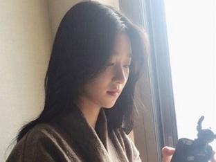 '옥택연과 호흡' 서예지, 청순미 넘치는 일상 사진 공개 '여신 강림'