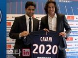 카바니, PSG와 2020년까지 계약 연장 합의