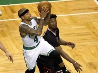 NBA 보스턴, 아이재아 앞세워 시카고에 신승..PO 2회전 보인다