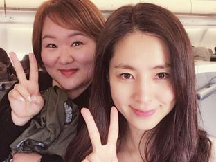 '배틀트립' 한채아-하재숙, 말레이시아 랑카위 여행 인증샷..절친의 우정