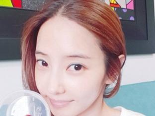 한채영, 민낯에 드러난 청순美