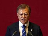 """문재인 대통령, """"2030 월드컵 동북아 공동개최 하자"""""""