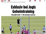 [7M 보도] 독일의 경기전 훈련 내용: 프리킥 집중점검