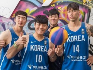 한국, 3X3 농구 월드컵 인도네시아 꺾고 첫 승..8강은 좌절
