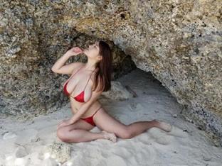 핫바디 그라비아 모델 야나세 사키, 한국에서 첫 팬 미팅 개최