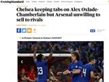 [7M 보도] 英 매체 '첼시, 챔벌레인 영입 가능성 낮다'