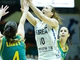 [아시아컵] '외곽슛 난조' 한국, 호주에 54:78 패배