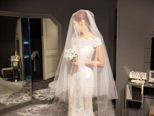 '결혼 D-15' 라이머♥안현모, 순백의 웨딩드레스 자태