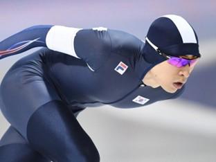 이승훈, 5000m 우승…평창 동계 올림픽 예선 진출
