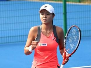 장수정, 하와이오픈 테니스 준결승 진출