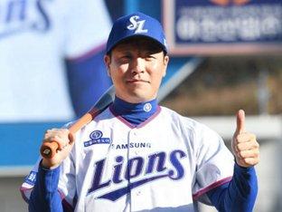 삼성 강민호, 내년부터 개인 트레이너둔다