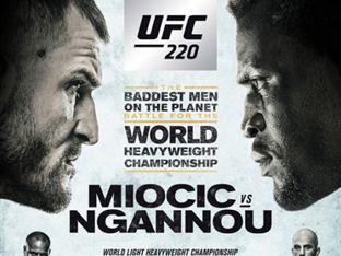 """UFC 220 은가누 """"미오치치, 내가 없어서 챔피언 된 것"""" 도발"""