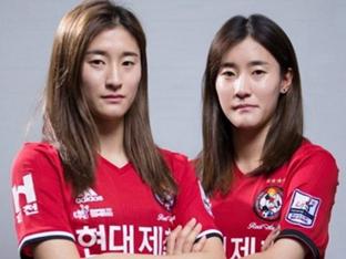 여자축구 '개띠 쌍둥이' 활약 기대해! ①김우리-김두리