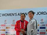 베트남 여축 기자회견中 한국어