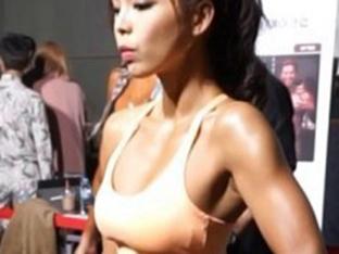 `김인석 아내` 안젤라 박, 출산 2년 만에 근육질 몸매