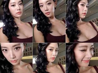 클라라, 섹시美 넘쳐흐르는 뒤태 '♥윙크는 덤'