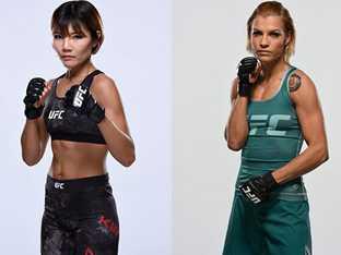 [단독] UFC 김지연 차기 대회 발표 대진 취소
