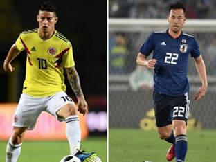 FIFA, 콜롬비아-일본 예상 선발라인업 공개