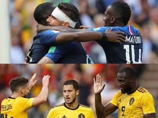 역사적인 맞대결, 프랑스-벨기에 '기회는 한 번뿐이다'