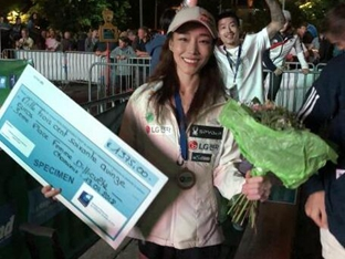 김자인, 스포츠클라이밍 월드컵 두 대회 연속 동메달