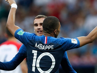 [월드컵 리뷰]'20년 만에 챔피언' 프랑스, 크로아티아 4-2 격파…통산 2번째 우승 달성!