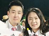 4년 전 '비밀 연애', 이젠 '부부 주장'..금빛 꿈꾸는 볼링 커플