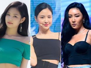 [DA:차트] 제니-손나은-화사, 7월 걸그룹 개인 브랜드 평판 TOP3