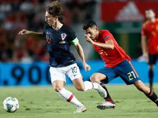 월드컵 준우승팀 크로아티아, 스페인에 6골 차 대패 '충격'