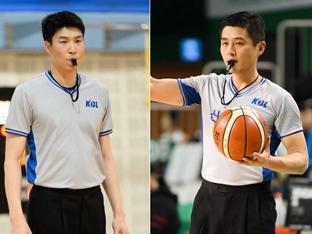 KBL 황인태-박경진 심판, 터리픽12-챔피언스컵 배정