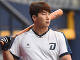 """유영준 감독대행이 나성범을 극찬한 이유 """"프로다운 자세"""""""