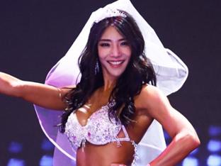 '2018 머슬마니아 세계대회' 박현진, 미즈비키니 톨 부문 1위 수상