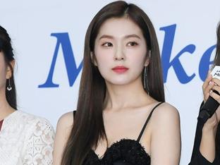 레드벨벳 아이린, 아이유 이어 참이슬 모델 발탁