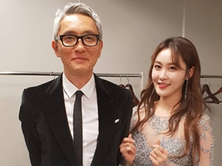 신아영, 日배우 마츠시게 유타카 만났다