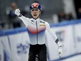 김건우 쇼트트랙 월드컵 3개 대회 연속 金…황대헌도 500m 1위