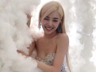 티파니, 구름 속 진짜 천사? 미모+S라인 다 비현실적[SNS★컷]