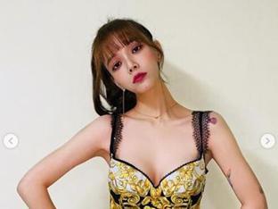 AOA 지민, 한 달 만에 깡마른 몸매서 건강한 섹시 美로 변신