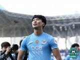 '4월의 선수' 김진혁, 훈련소 나와야 트로피 받는다…시즌 끝까지 패치 다는 이유는?