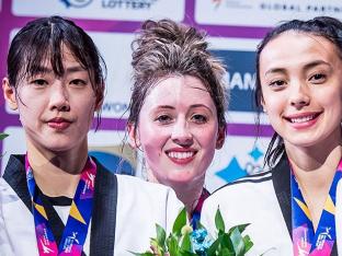 이아름, 세계태권도선수권 은메달…존스에 막혀 2연패는 무산