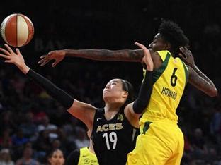 WNBA 박지수, 미네소타 상대로 31초만 출전..팀은 2연승