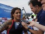 브라질 쿠나, 오픈워터 女 5㎞ 금메달