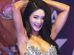 [스토리S] 김효진, 미스춘향 진 출신 BJ 리즈리사의 머슬 여신 도전!