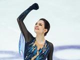 메드베데바, GP 5차대회 여자 싱글 쇼트프로그램 1위